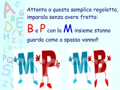 Esercizi interattivi MP e MB (italiano)