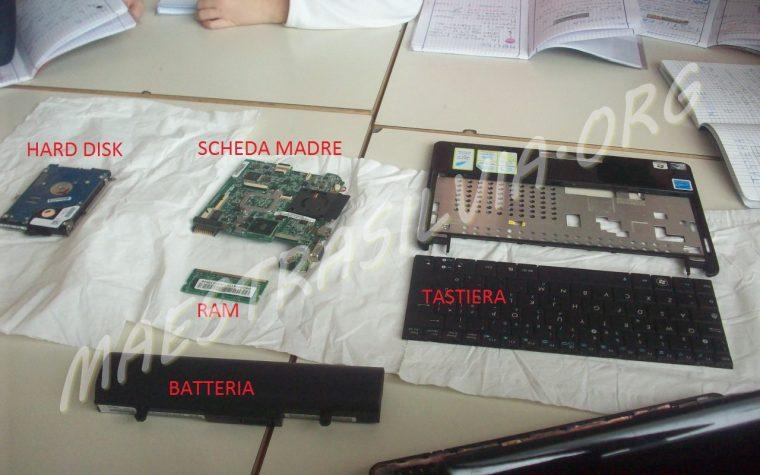 Martedì 15 ottobre – Un computer smontato! (Informatica)