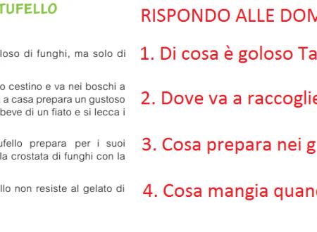 Sabato 12 ottobre – Comprensione scritta di un testo (Italiano)