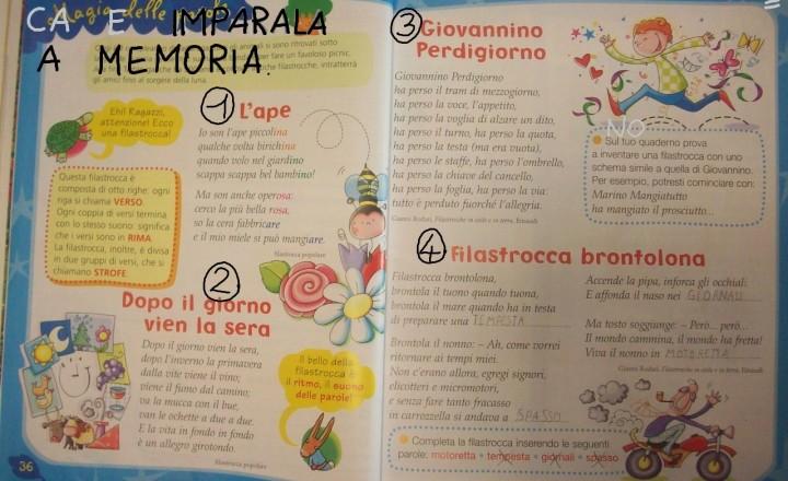 Venerdì 23 Novembre: ancora sillabe (Italiano)