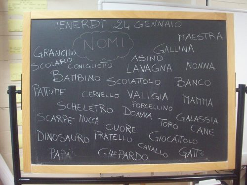Venerdì 24 Gennaio 2014: analisi grammaticale del nome (Italiano)