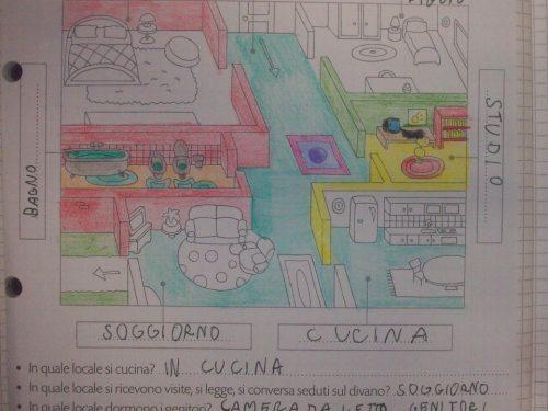 Venerdì 24 Gennaio 2014: la pianta della casa (Geografia)