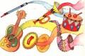 Giovedì 13 Marzo 2014: gli strumenti musicali (Musica)