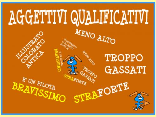 Mercoledì 30 Aprile: gli aggettivi qualificativi (Italiano – Grammatica)
