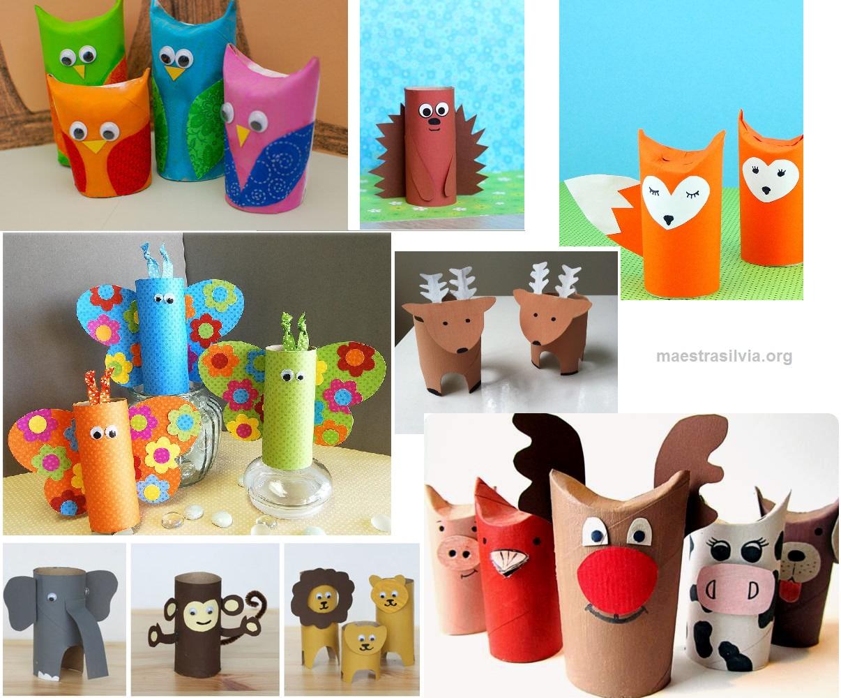 Molto Riciclare scatole di cartone: giocattoli per bambini   Il blog di  LR29