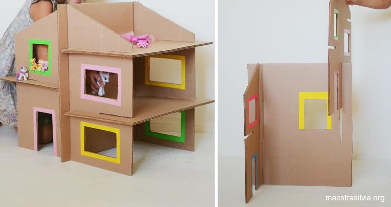 Conosciuto Riciclare scatole di cartone: giocattoli per bambini   Il blog di  JM47
